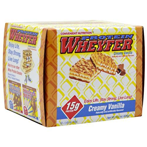 PROTEIN WHEYFER VANILLA 10/BOX Review