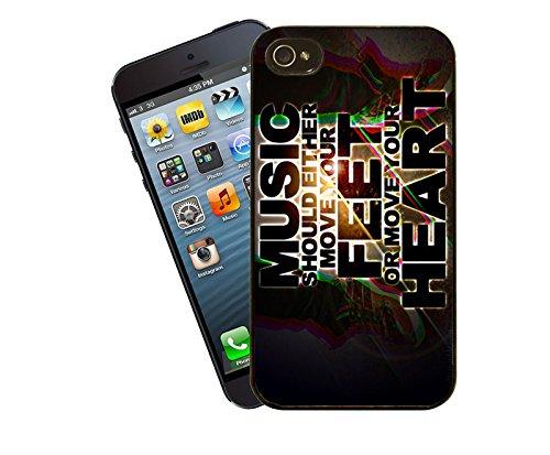 Zitate und inspirierende Worte 011 Telefon Etui - passen diese Abdeckung Apple Modell iPhone 4 / 4 s - von Eclipse-Geschenk-Ideen