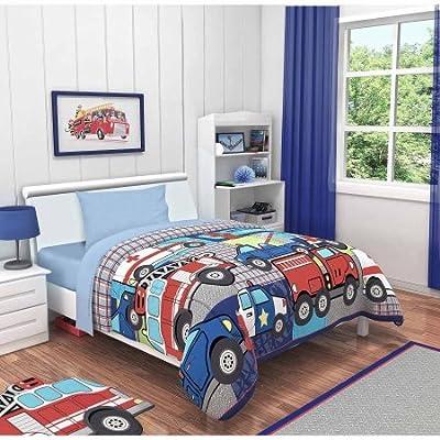 Heritage Kids Rescue Heroes Toddler Bedding Set (4 Piece)