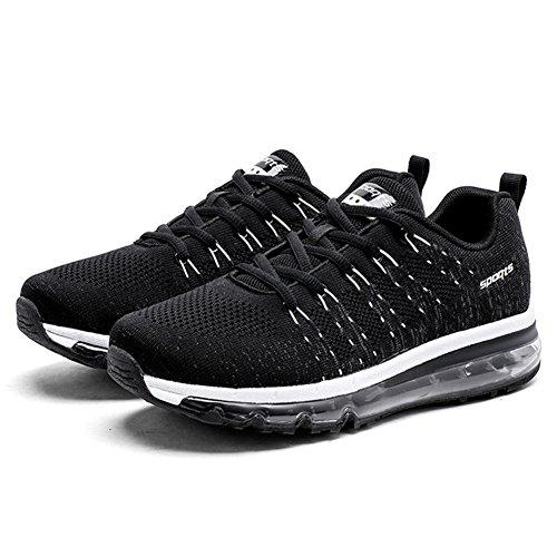46eu Homme Air Noir Course Basses De Sneakers Chaussures Baskets Torisky Sports Mode 35 Running Femme 8OxFnR