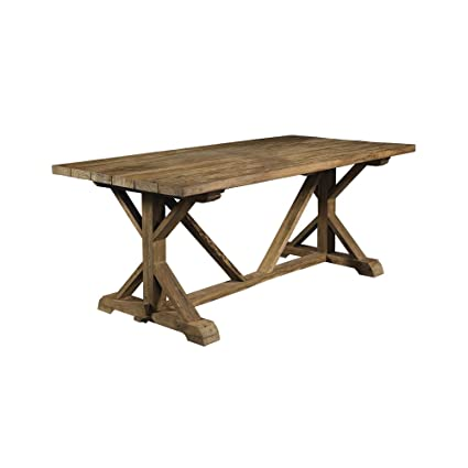 Delicieux Padmau0027S Plantation Xena Reclaimed Outdoor Teak Dining Table, Natural  OL XEN13 79R