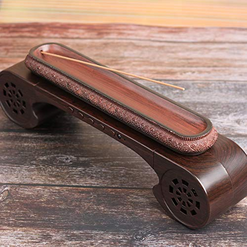 PHILOHOME Classical Music Incense Burner/Holder, Exquisite Packaging Includes Music Box, Line Incense Burner, Charger, Charging Cable, 4G Memory Card, a Tube of Incense. ()