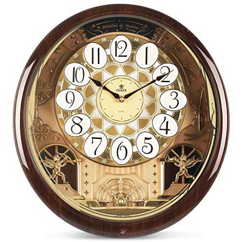 Amazon Com Zyy Music Large Wall Clock Silent For Modern