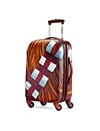 American Tourister Disney Star Wars All Ages 21-Inch Spinner Carry-On Expandable, Chewbacca, International Carry-On