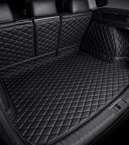 5063290 Connected Essentials Fully Tailored Boot Liner Boot Mat Black with Grey Trim Velour