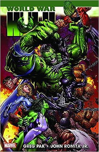 World War Hulk #1 John Romita Jr Greg Pak 9.6