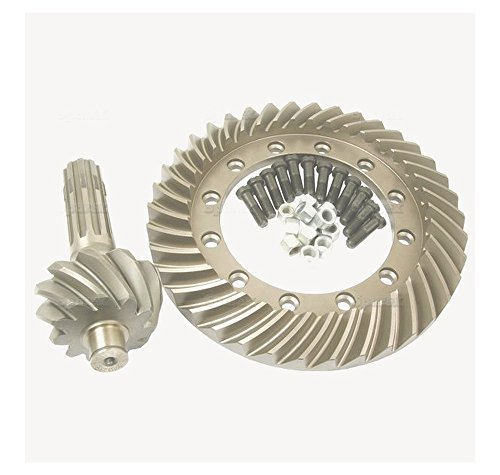 Sparex, S.41344 Ring & Pinion, 1664255m92 For Massey Ferguson 200 Series 300 Series 240, 253, 255360, 362, 375, 390, 39920E, 20F, 30B, 30E, 30H, 40E, 50D, 50E, 50F, 50H, 60H