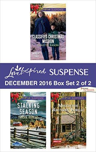 book cover of Harlequin Love Inspired Suspense December 2016 - Box Set 2 of 2