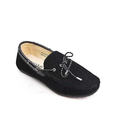 UOMO Design - Mocasines de Material Sintético Hombre: Amazon.es: Zapatos y complementos