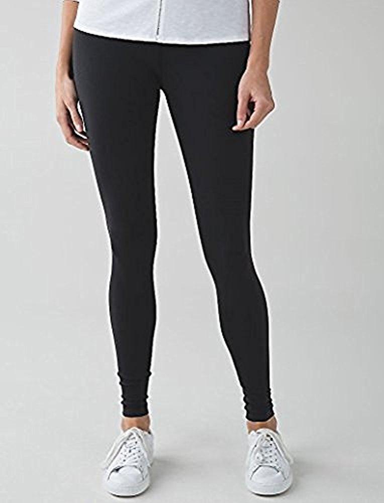 Lululemon Wunder Under Pant III Full On Luon Yoga Pants (Black, 4) by Lululemon (Image #2)