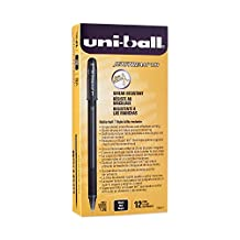 uni-ball Jetstream Rollerball, 101 Stick Roller Ball Pen Bold-1.0mm, 12 Pack, Black Ink (1768011)