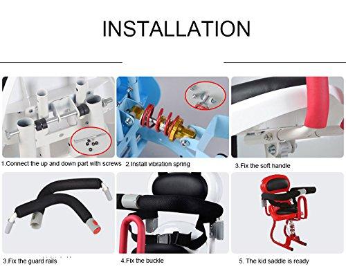 Amazon.com: Sillín infantil para Xiaomi Skateboard Scooter ...