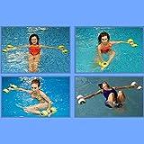 Jiecikou 2 PCS Aquatic Exercise Dumbbells Set of