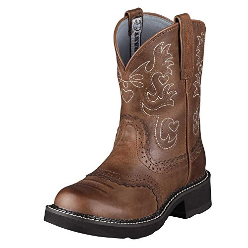 Ariat Women's Fatbaby Saddle Western Leather Boot