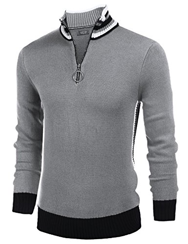 Quarter Zip Ribbed - 3