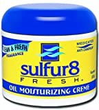 Sulfur-8 Fresh Oil Moisturizing Cream 4 oz. (Pack of 2)