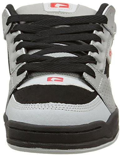 black Scribe Globe De Multicolore grey red Skateboard Chaussures Homme 6pPSUw