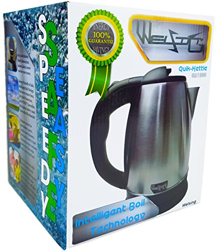 Welsing Electric Kettle with STRIX | FAST BOIL - Electric Kettle Small Size