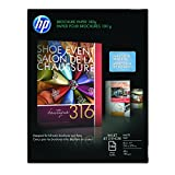 HP Brochure Inkjet Paper, 8.5x11, Matte, 150 Sheets, 180 Gram CH016A