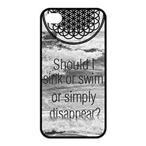 Mystic Zone BMTH Bring Me the Horizon Cover Case for iPhone 4/4S Cover KEK1936