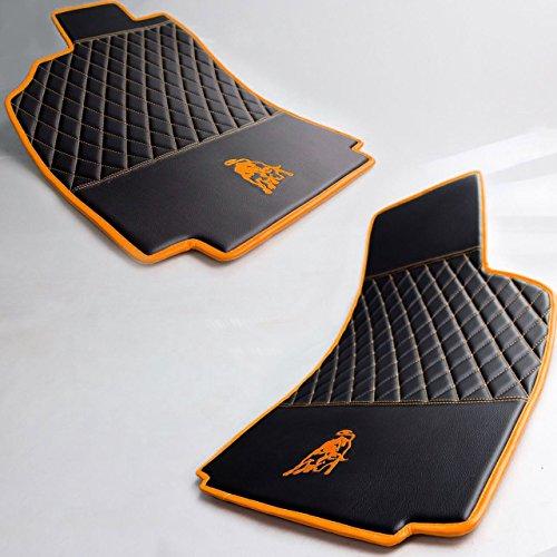 Lamborghini Murcielago Handmade Floor Mats Leather w/ Custom Color Options 2002 - (Lamborghini Gallardo Murcielago)