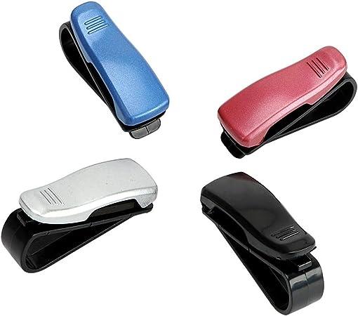 Nuevo Azul Gafas de sol gafas clip de visor soporte para coche