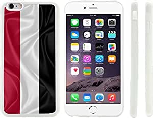 Rikki KnightTM Yemen Flag Design iPhone 6 Plus Case Cover (Clear Rubber with raised front bumper protection) for Apple iPhone 6 Plus by runtopwell