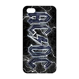 Fortune Rock Band AC/DC Logo 3D Phone Case For Iphone 5/5S Cover