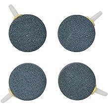 "Pawfly 1.6"" Air Stone Bubble for Aquarium Fish Tank Hydroponics Pump Ceramic Airstones Diffuser, Pack of 4"