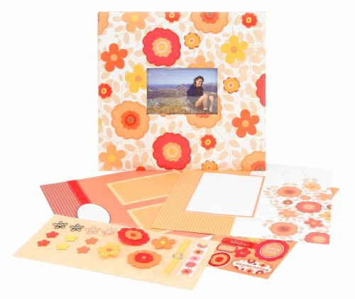 CR Gibson All Occasion Floral Complete Scrapbook Kit from Tapestry ()