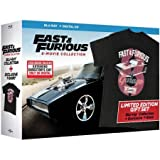 Fast & Furious: 8-Movie Collection (Blu-ray + Digital HD) Limited Edition Gift Set with Exclusive T-Shirt