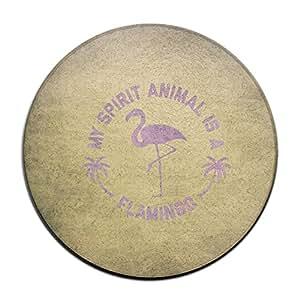 Cool mi espíritu Animal es un flamenco Felpudo Funny Doormats