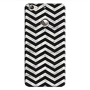 Cover It Up - Silver Black Tri Stripes Le 1s Hard case
