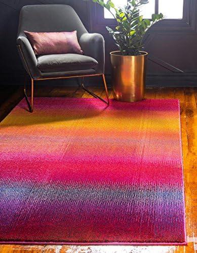 Unique Loom Estrella Collection Colorful Abstract Multi Area Rug 9' 0 x 12' 0