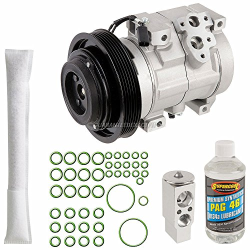 AC Compressor w/A/C Repair Kit For Toyota Celica 2001 2002 2003 2004 2005 - BuyAutoParts 60-81342RK NEW