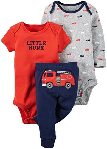 Carter's Baby Boy's 3 Piece Take Me Away Set
