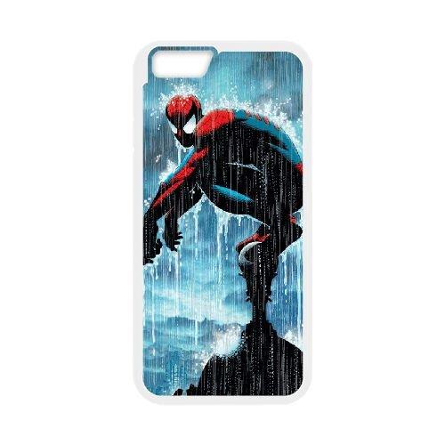 Pictures Of Spiderman 009 coque iPhone 6 Plus 5.5 Inch Housse Blanc téléphone portable couverture de cas coque EEEXLKNBC18719