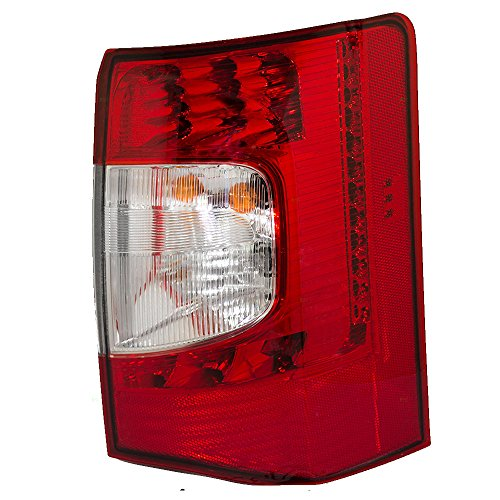 Taillight Tail Lamp Passenger LED Replacement for 11-16 Chrysler Town & Country Van 5182530AE