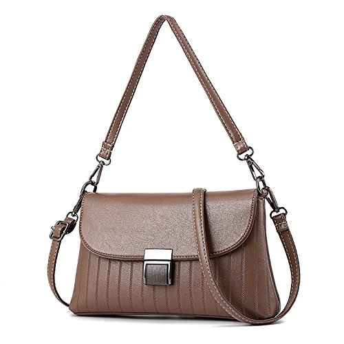Meaeo New Shoulder Bag Woman Bag Diagonal Wild Persimmon Khaki