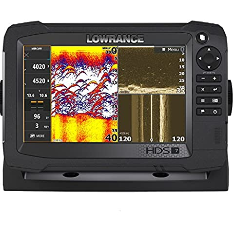 Lowrance Navico HDS-7 Carbon Insight with Total Scan Transducer (Hds 10 With Structure Scan)