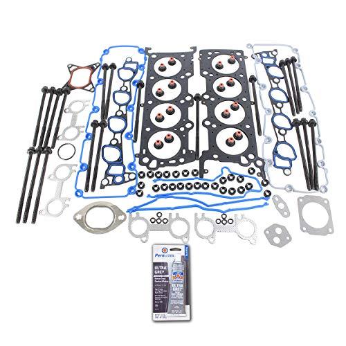 Head Gasket Set Bolt Kit Fits: 96-98 Ford Mustang GT 4.6L V8 SOHC 16v - Gasket Gt Cylinder Head