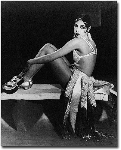 Entertainer Josephine Baker Portrait 8x10 Silver Halide Photo ()