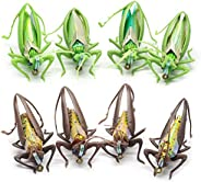 Realistic Grasshopper Fly Fishing Flies Set 3 Sizes 3 Colors