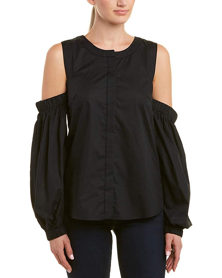 MILLY Womens Mica Top Black