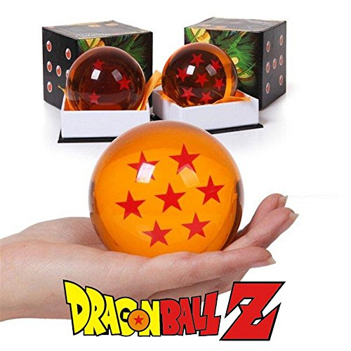 Original Box 7.5CM Dragon Ball Z Crystal Balls Action Figure Anime 1 2 3 4 5 6 7 Star Dragonball Children Kids -