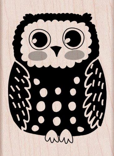 UPC 085700887670, Hero Arts Circle Owl Woodblock Decorative Stamp