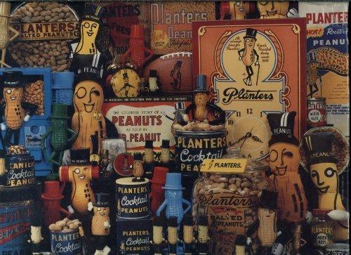Planters Mr Peanut (Springbok 500 Piece Puzzle - Just Nuts About Mr. Peanut! Featuring Planters Peanuts PZL4424)
