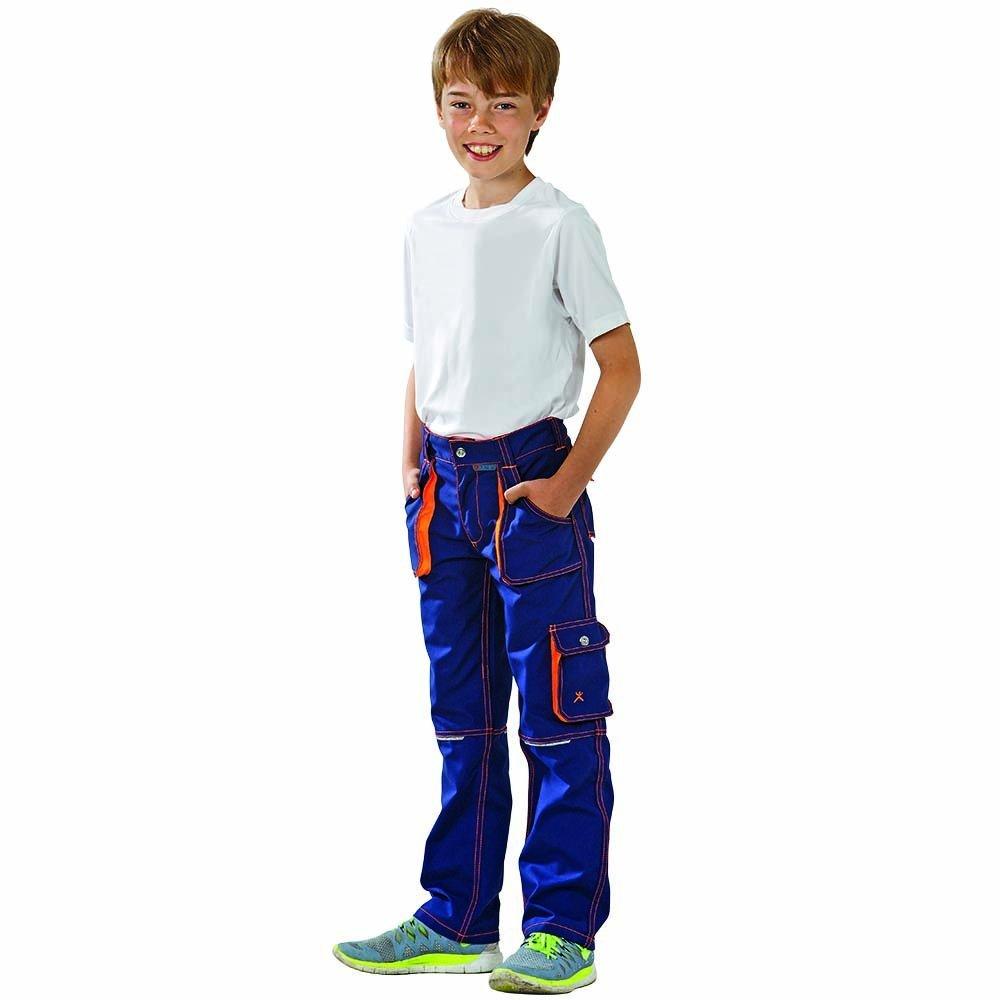 Planam 6112122 Pantalon Taille 122//128 Olive//Orange