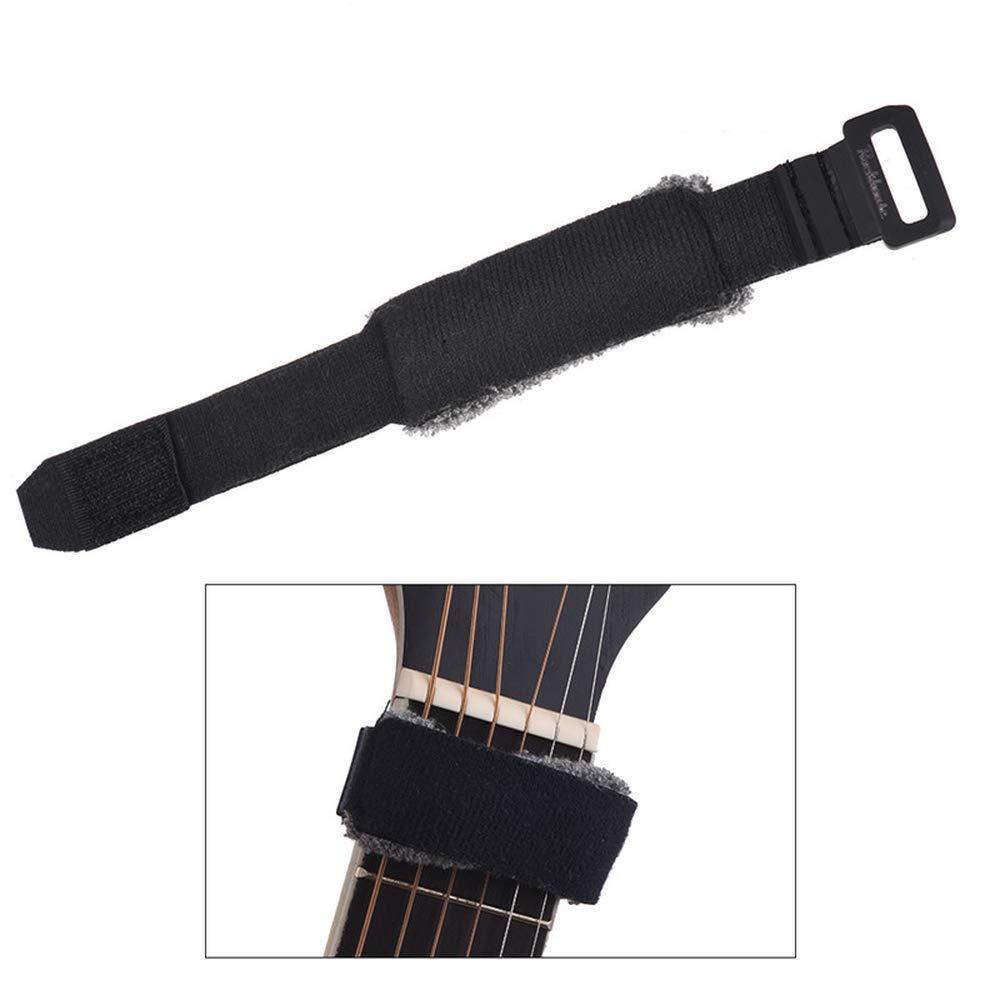 Cuerdas de guitarra fretwraps mudo muter fretboard muting envuelve para 7-string Acoustic Classic Guitars Bass guitarra accesorios 1pcs