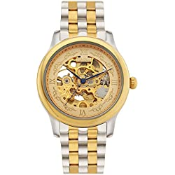 Time100 New Men's Mechanical Skeleton Watch #W60015G.01A